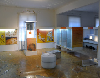 24.3. Protective measures carried out on the third floor of the Archaeological Museum in Zagreb